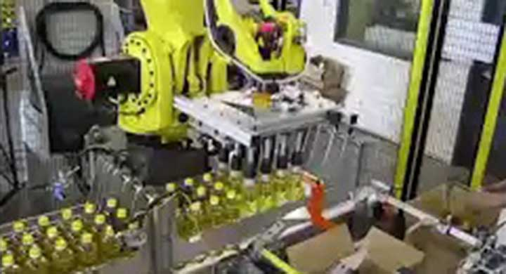 Packaging Fanuc Oil