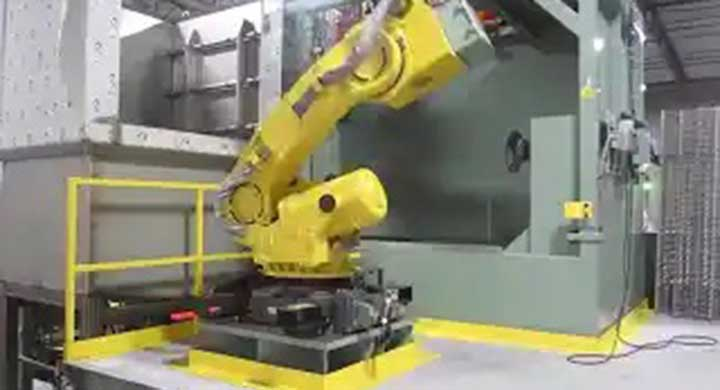 Material Removal Fanuc Die Cast