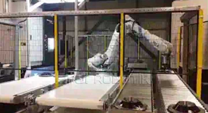 Machine Tending ABB CNC Load, Chanfering and Coating Oil #2